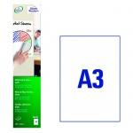 Этикетки-доски Avery Zweckform 70702, белые, 420х594мм, 1шт на листе А3, 3 листа, 3шт