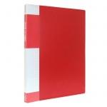 Папка файловая Berlingo Standard красная, A4, на 60 файлов, MT2441