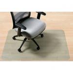 Коврик под кресло Clear Style прямоугольный 1170х1520мм, 2мм, 1624, для гладкой поверхности