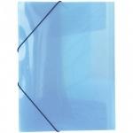 Пластиковая папка на резинке Berlingo синяя, А4