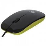 Мышь проводная оптическая USB Defender NetSprinter 440 черно-зеленая, 1000dpi, 52446