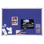 Доска текстильная Magnetoplan 11005B 120х90см, синяя, системная рама ferroscript