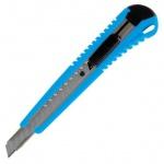 Нож канцелярский Berlingo 9мм, голубой