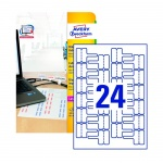 �������� ��� ������� � �������� Avery Zweckform L7950-20, �����, 60�40��, 24�� �� ����� �4, 20 ������, 480��, ��� ������� �������� ������