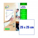Этикетки-доски Avery Zweckform 70704, белые, 254х254мм, 1шт на листе, 4 листа, 4шт