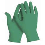 Перчатки лабораторные Kimberly-Clark Kimtech Science Green Nitrile 99851, нитриловые, S, зеленые