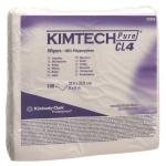 Протирочные салфетки Kimberly-Clark Kimtech Pure CL4 7646, листовые, 100шт, белые