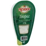 Творог рассыпчатый President 9%, 250г
