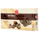 Конфеты Fine Life Sea Shells шоколадные ракушки, 125г