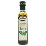 Масло оливковое Monini Extra Virgin нерафинированное, с базиликом, 0.25л