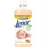 Кондиционер для белья Lenor для чувствительной кожи 1л, миндальное масло, суперконцентрат