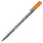 Ручка капиллярная Staedtler Triplus Fineliner 334, 0,3мм, цвет светло-коричневый