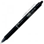 Ручка гелевая стираемая Pilot Frixion Clicker черная, 0.4мм, с ластиком, BLRT-FR7