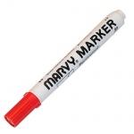 Маркер перманентный Marvy 482С красный, 1-3мм, скошенный наконечник