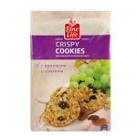 Печенье Fine Life хрустящее с изюмом и  арахисом, 200г