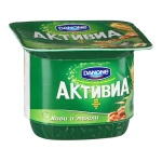 Йогурт Активиа, 2.9%, 150г, киви/мюсли