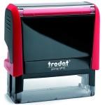 Оснастка для прямоугольной печати Trodat Printy 70х25мм, красная, 4916