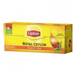 Чай Lipton Royal Ceylon, черный, 25 пакетиков