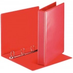 Папка-панорама на 4-х кольцах А4 Esselte красная, 50мм, 49713