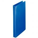 Папка-панорама на 4-х кольцах Esselte синяя, А4, 30мм, 49752