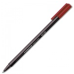 Ручка-роллер Staedtler Triplus красная, 0.4мм