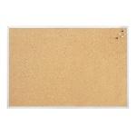 Доска пробковая Magnetoplan SP 12176 120х90см, коричневая, алюминиевая рама