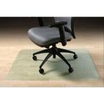 Коврик под кресло Clear Style прямоугольный 910х1210мм, 2мм, 1602, для гладкой поверхности
