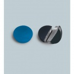 Магниты Magnetoplan Standart d=30х8мм, 10шт/уп, синие
