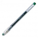 Ручка гелевая Pilot BL-G1-5 зеленая, 0.3мм