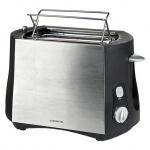 Тостер Polaris PET0804A серебристый, 800 Вт