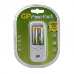 Зарядное устройство для аккумуляторов Gp PB410GS65, 2 аккум АА650mАh