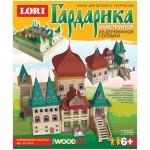 Конструктор деревянный Lori, из деревянной соломки, княжеские палаты
