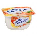 Продукт творожный Даниссимо персик, 5.4%, 130г