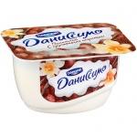 Продукт творожный Даниссимо, 7.3%, 130г, ваниль и хрустящие шарики