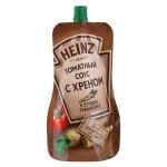 Соус Heinz, 230г, Томатный  с хреном