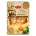 Сыр в нарезке Columbus 48% Гауда, 150г