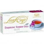 Чай Ronnefeldt Leaf Cup Darjeeling Summer Gold, черный, 15 пакетиков