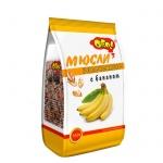Мюсли Ого!, 350г, с бананом