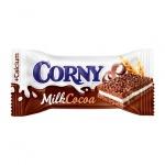 Батончик мюсли Corny Milk с какао, 30г