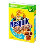 Готовый завтрак Nesquik шоколадные подушечки, 325г