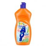 Средство для мытья посуды Aos 0.5л, ромашка/ витамин Е, бальзам
