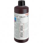 Штемпельная краска на водной основе Trodat Multi Color 1л, коричневая, 7012