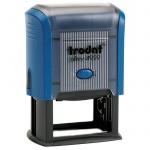 Оснастка для прямоугольной печати Trodat Professional 50х30мм, 4929, синяя