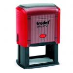 Оснастка для прямоугольной печати Trodat Printy 60х40мм, красная, 4927