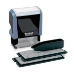 Штамп прямоугольный самонаборный Trodat Printy Typomatic 4 строки, 47х18мм, 4912/DB серый