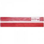 Бумага крепированная Greenwich Line, 50х100см, 60 г/м2, металлик, красная