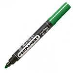 Маркер перманентный Centropen 8510, 2.5мм, пулевидный наконечник, зелёный