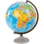 Глобус физический Глобусный Мир 25см, на круглой подставке, 10160