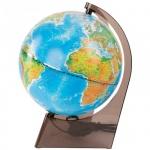 Глобус физико-политический Глобусный Мир 21см, на треугольной подставке, с подсветкой