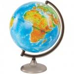 Глобус физико-политический Глобусный Мир 32см, на круглой подставке, с подсветкой